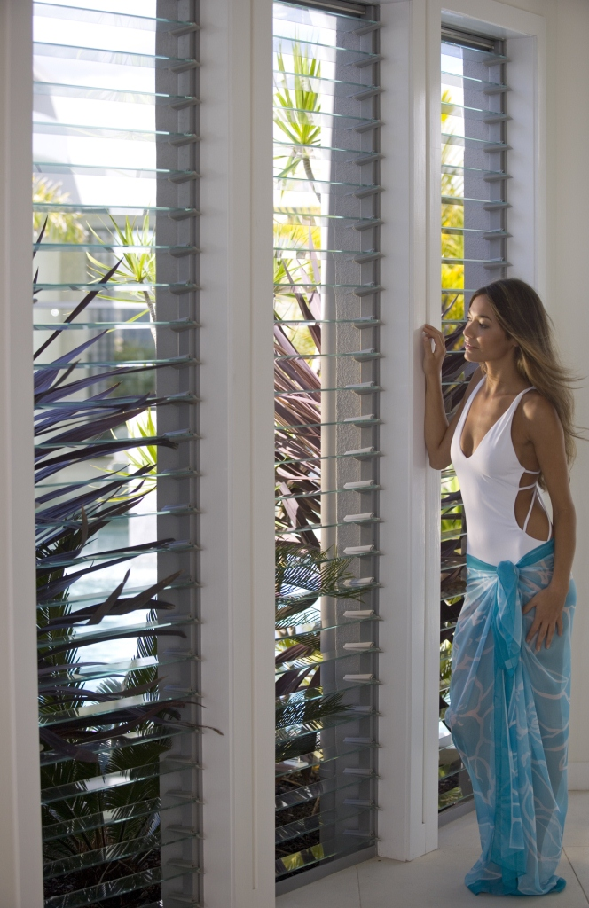 Breezway Altair Louvre Windows In Walkways Or Internal Walls