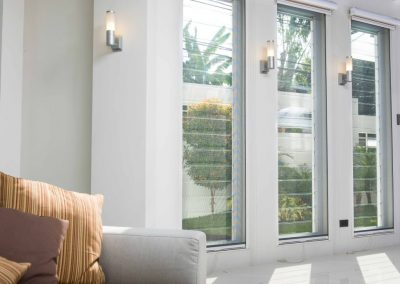 Altair Louvres with clear glass help maximise views and ventilation