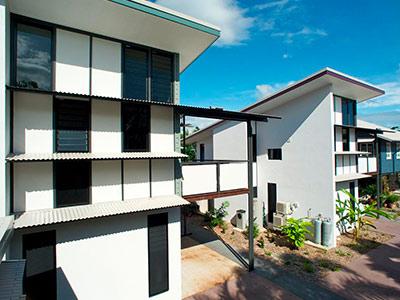 Apartment Block, Air and Space, Australia