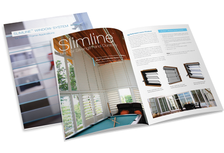 Breezway Altair Slimline Louvre Window Brochure