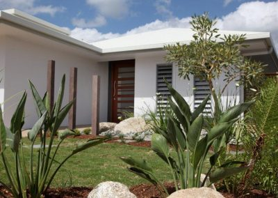 Design your home with Breezway Louvres in the front facade to add street appeal