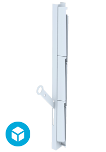 Breezway Altair Louvre Ring Pull handle