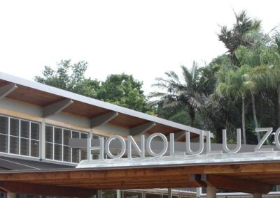 Honolulu Zoo with Breezway Louvres controls airflow