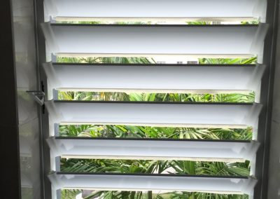 Altair Louvres provide fresh air and privacy