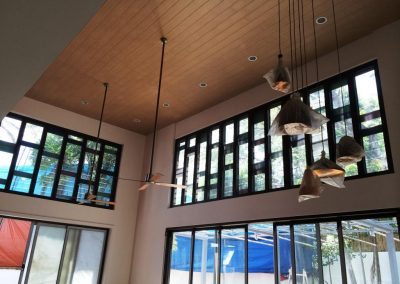 Decorative Feature Window using Breezway Louvres