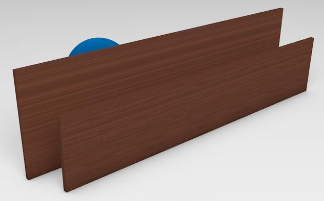 <strong>Woodgrain Aluminium</strong><p>Aluminium with woodgrain finish provides privacy with ventilation.</p>