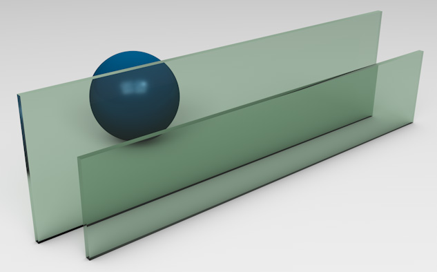 <strong>Dark Green Tinted Glass</strong><p>Works best to reduce solar heat gain - beneficial in hot climates.</p>