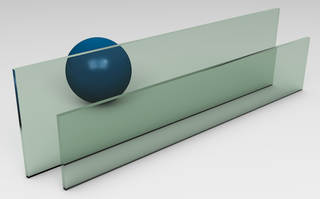 <strong>Light Green Tinted Glass</strong><p>Works best to reduce solar heat gain - beneficial in hot climates.</p>