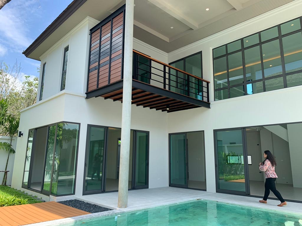 Breezway Louvres installed in Vinzita Phuket